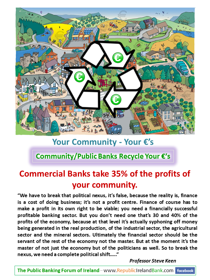A Community Public Banking System is -